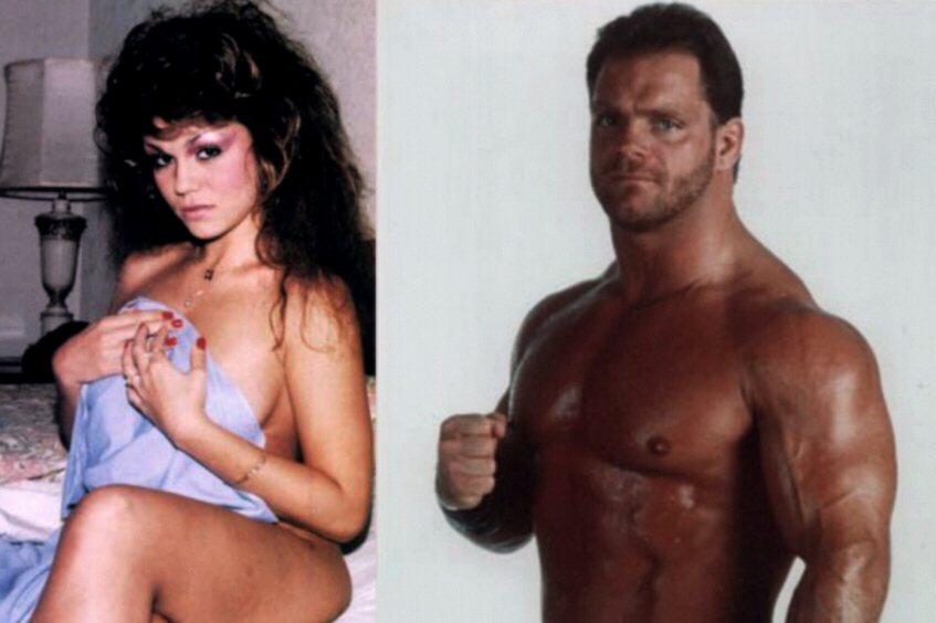Nancy and Chris Benoit