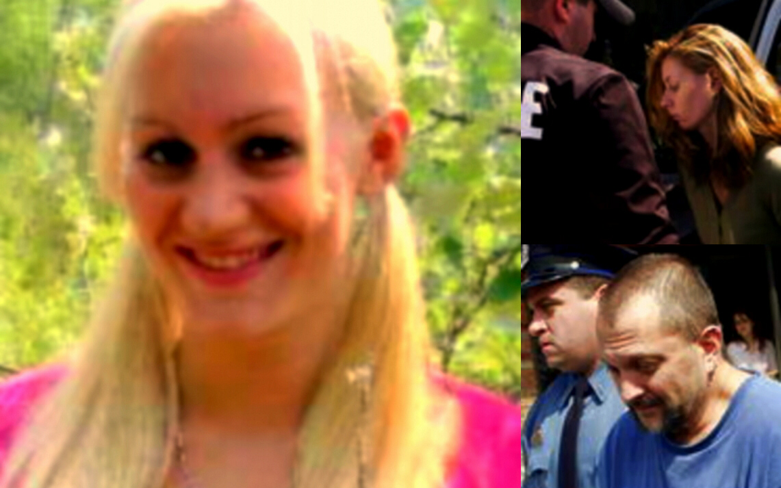 Taylor Summers (Natel King), at left, was murdered during making a snuff film by Anthony Frederick (below right) and Jennifer Mitkus (above right).