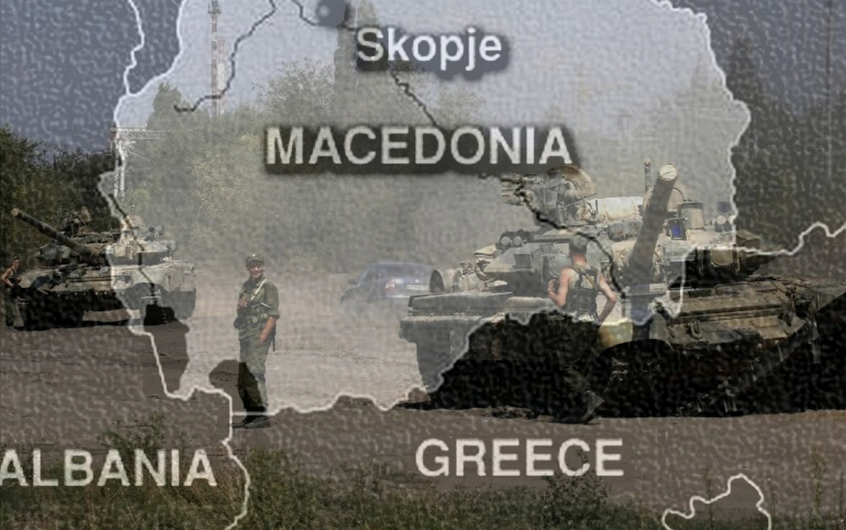 New war breaks out in Macedonia in 2015