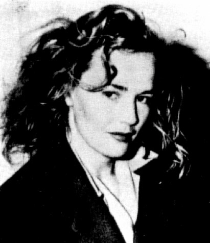 News photo of Frances Farmer after her arrest in Santa Monica, California, 1943