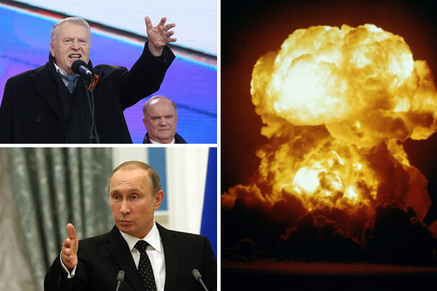 Nuclear war courtesy of the Russian Federation's two Vladimirs