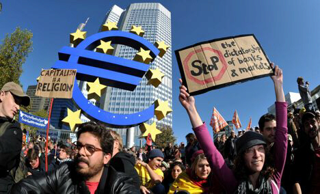 Occupy Wall Street spreads to Germany