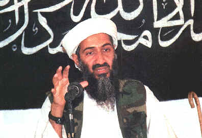 Osama bin Laden speaks out in Afghanistan