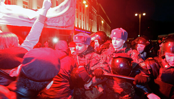 Over 30 held at Moscow Day of Wrath protest