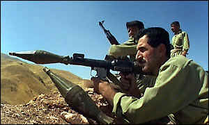 PUK fighters in northern Iraq