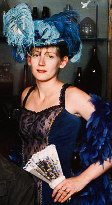 The Suffolk Strangler's fourth victim: Paula Clennell, dressed in 1880s costume