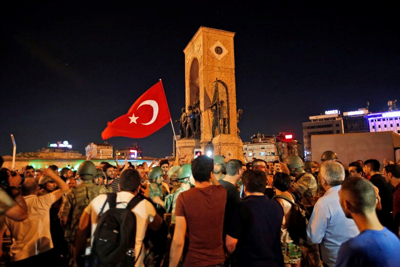 People react after coup fails