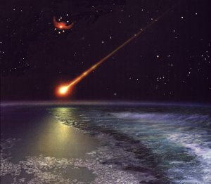 Planet X and debris impact