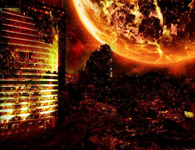 It will literally become Hell on Earth when Planet X or Wormwood reaches its most terrifying and catastrophic aspect.