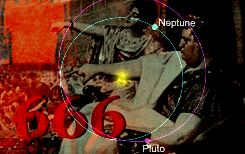 Pluto transiting Neptune heralds the beast of Revelation