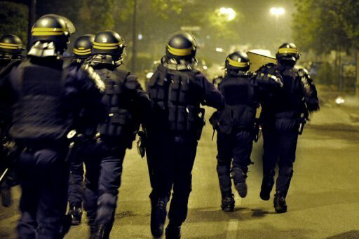 Police arrested two teenagers after the riots in Grenoble