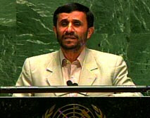 Iranian President Mahmoud Ahmadinejad says that the U.N. Security Council is ineffective