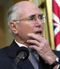 Prime Minister Howard says disarming Iraq by force is in Australia's interests