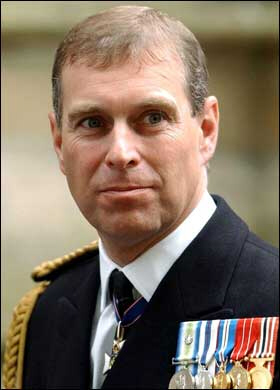 Prince Andrew, the second son