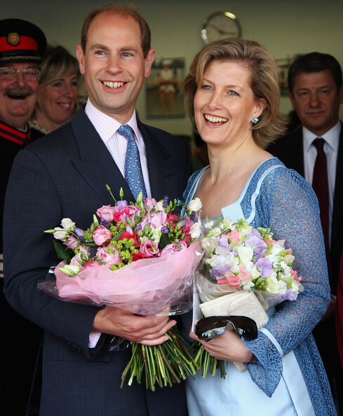 Prince Edward Earl and Countess of Wessex Sophie