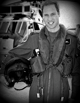 Prince William in flight suit