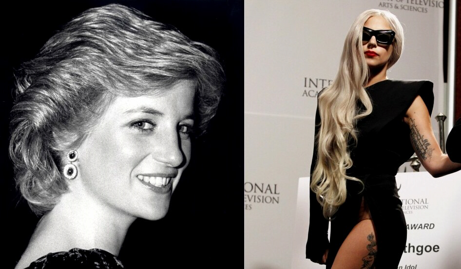 Princess Diana and Lady Gaga: The pop icon has released a song about Diana's death and fears she may end up dying the same way as the British royal