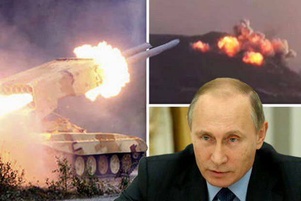 Putin has taken out 100 Jihadis in fresh wave of air strikes