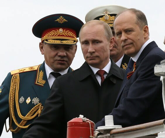 Putin's new evil empire is preparing for World War III