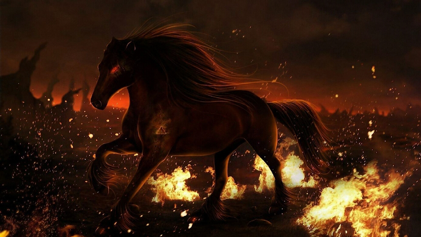 Race horse from Hell