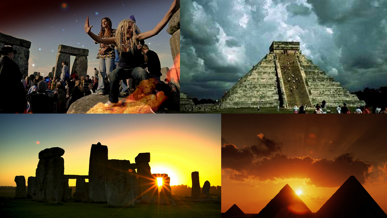 Some examples of the remnants of Babylon's global grid system: Stonehenge, Mayan pyramids, Egyptian pyramids