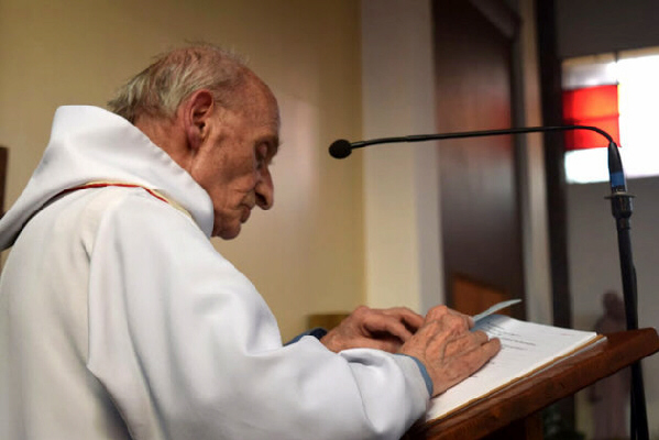 Rev. Jacques Hamel was killed during a Mass at a French Catholic church