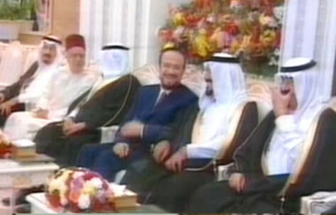 Rifaat al-Assad and Saudi King Abdallah