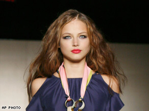 Supermodel Ruslana Korshunova jumped nine floors to her death in downtown Manhattan. Her death is being treated as a sucide.