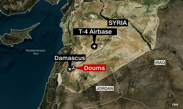Russia claims two Israeli warplanes launched airstrikes in Syria