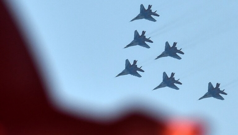 Russia sends jets to Syria to fight World War III