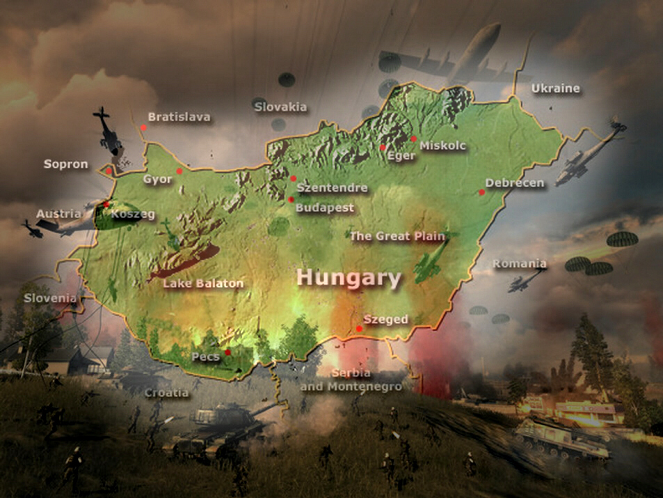Russia sends troops into Hungary