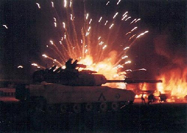 Russia tank war in Iraq