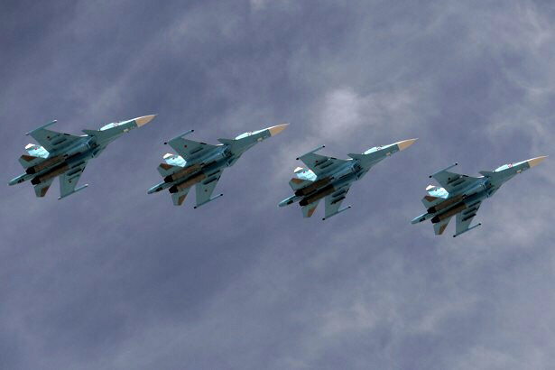 Russian warplanes violate Turkish airspace