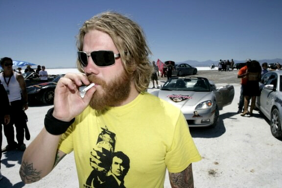 Ryan Dunn Twitter photo just before death