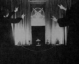 Ceremony at the Church of Satan