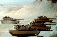 Saudi tanks mobilising for Bahrain