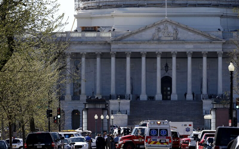 Scene of U.S. Capitol Shooting
