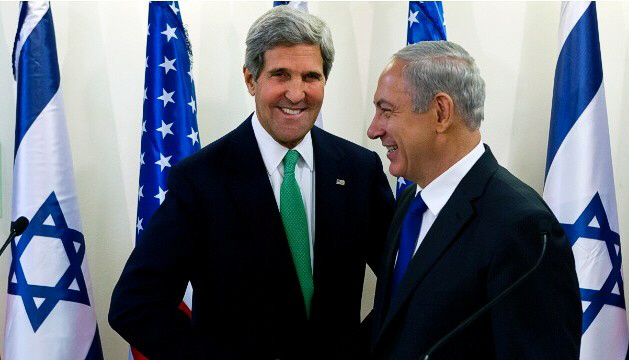 Secretary of State John Kerry meets with Prime Minister Benjamin Netanyahu