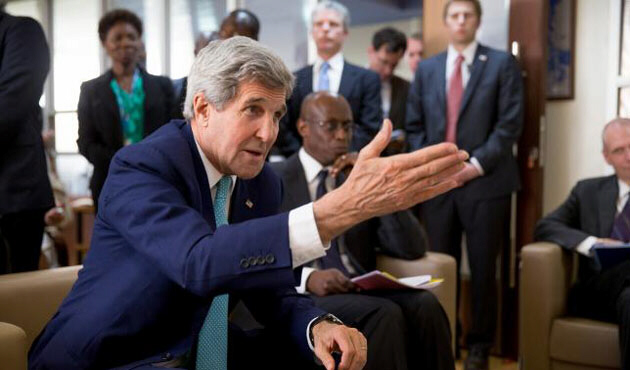 Secretary of State Kerry conveys US concerns over Russian actions in Syria