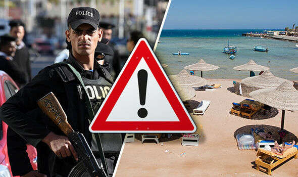 Six tourists killed and injured in knife attack in Hurghada