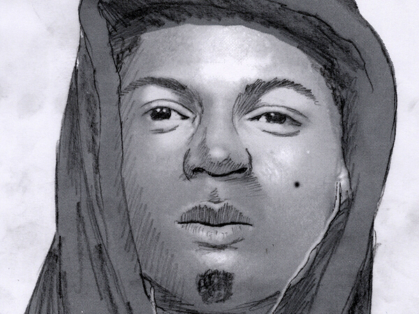 Sketch of Kensington stranglings suspect