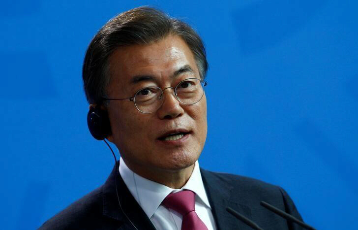 South Korea's Moon wants US to deploy more THAAD units