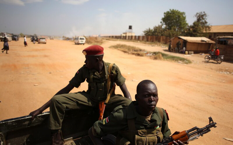 South Sudan plunging into civil war