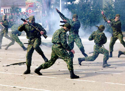 Spetsnaz would create havoc and confusion in populations