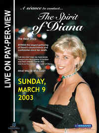 'The Spirit of Diana' promo
