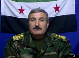 Syrian Commander Riad al-Asaad takes credit for bombing