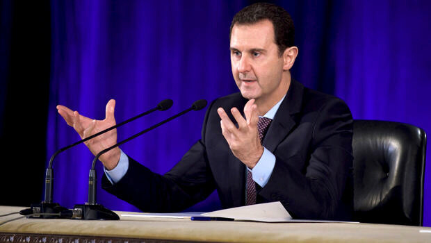 Syrian dictator lays out conditions for cease-fire