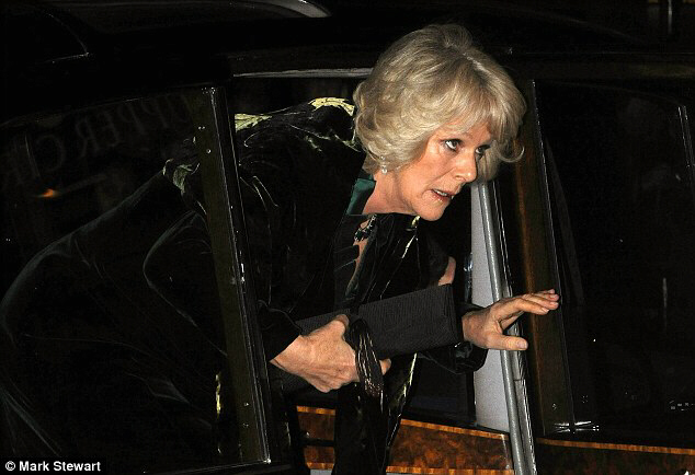 The Duchess of Cornwall was shaken by the attack