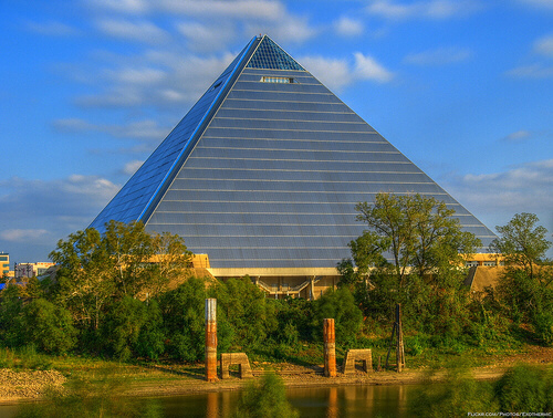 The Great Pyramid in Memphis