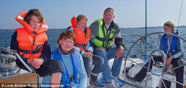 Fears: The Johansen family from Denmark are in the hands of Somali pirates who have threatened to kill them